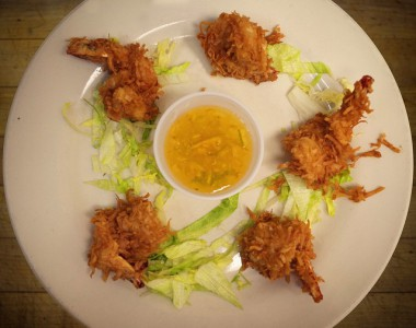 Coconut Shrimp with Marmalade