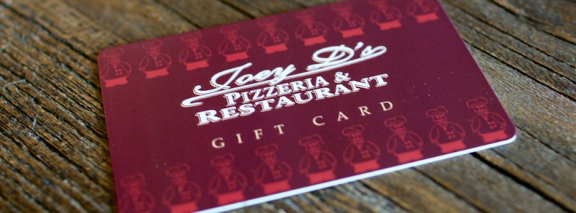 Gift Cards for Christmas!